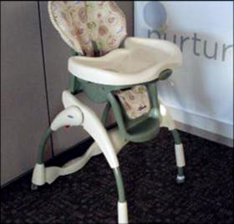Image: Highchair recall: Graco Harmony