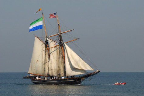 Image: Freedom Schooner Amistad, a near-replica of the ship that sparked a 19th century slave revolt