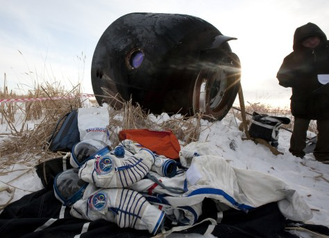 Image: Discarded spacesuits