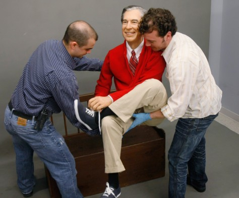 Image: Fred Rogers figure