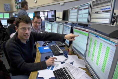Image: LHC control center