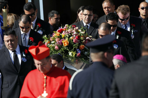 Image: Funeral of Agustin Roberto Salcedo