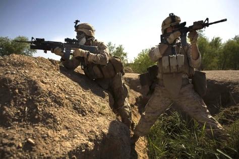 Image: U.S. Marines in Marjah