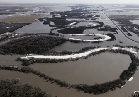 Image: Flooded Red River