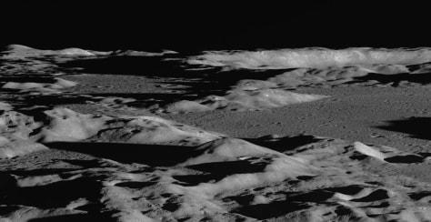 Image: Lunar landscape