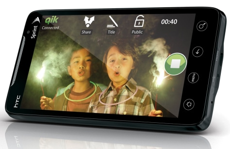 Image: HTC Evo 3G phone