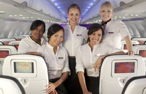 Image: VIRGIN AMERICA FLY GIRLS