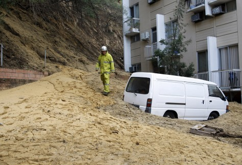 Image: Mudslide in Perth