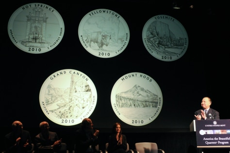 Image: New quarters debut