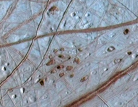 Image: Surface of Europa