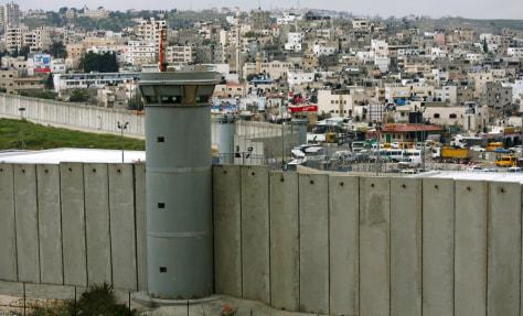 Image: Israeli separation wall
