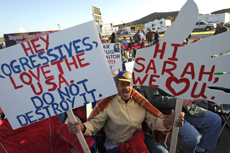 Image: Tea party rally in Searchlight, Nevada