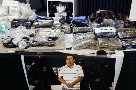 Image: Mexican tar heroin, and Methamphetamine