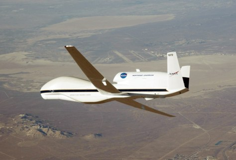 Image: NASA's GLobal Hawk