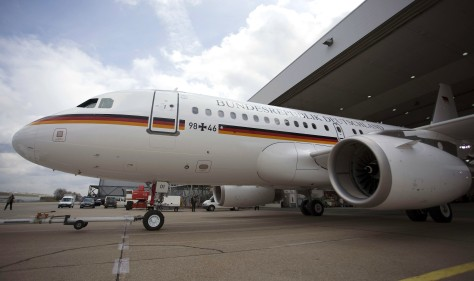Image: The first Airbus A319 delivered to the German Army