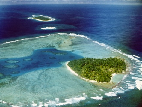 Image: Island in Chagos Archipelago
