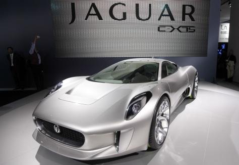 Image: Jaguar C-X75