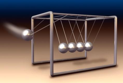Image: Newton's cradle