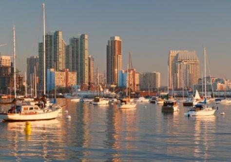 Image: San Diego skyline