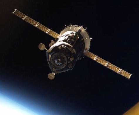 Image: Soyuz undocking