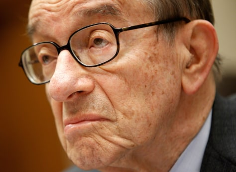 Image: Former Federal Reserve Board Chairman Alan Greenspan