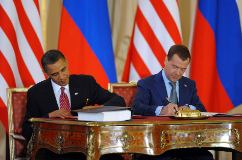 Image: Barack Obama, Dmitry Medvedev