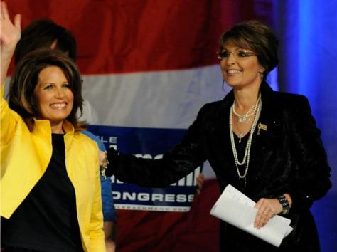 Image: Sarah Palin, Michele Bachmann