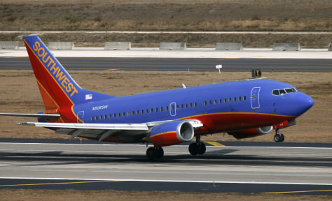 Image: Southwest Airlines, Boeing 737-500