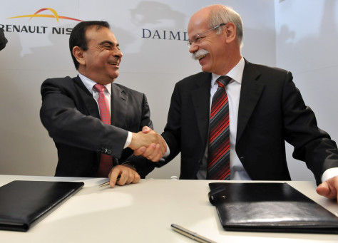 Image: Ghosn, Zetsche