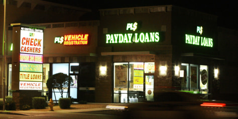 Image: Payday loans