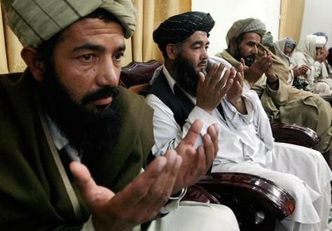 Image: Former Taliban militants