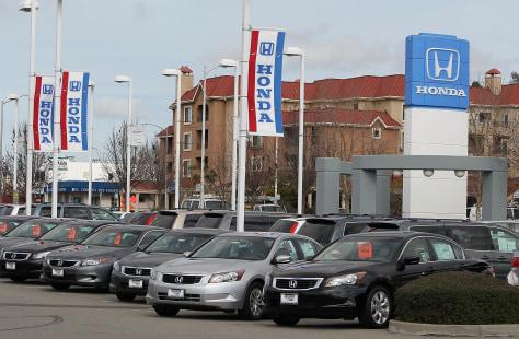 Image: Honda lot