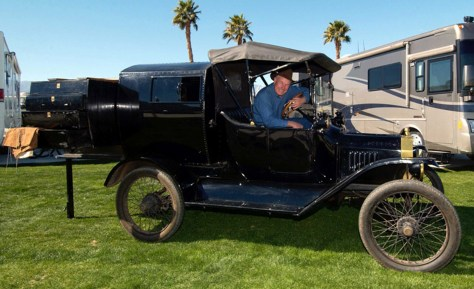 Image: David Woodworth'S 1916 Model T RV