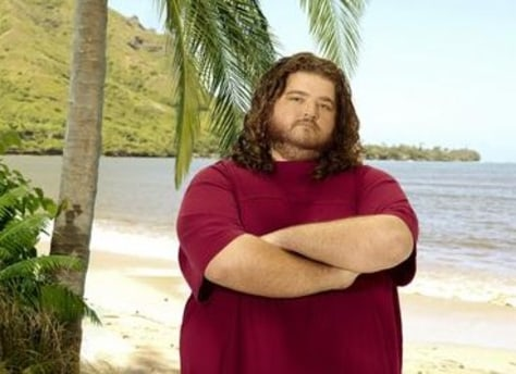 "Image: Hurley on ""Lost"""