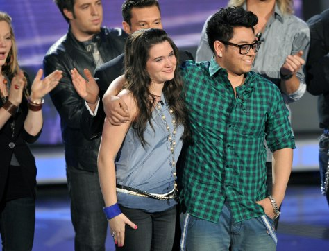 Image: Katie Stevens and Andrew Garcia