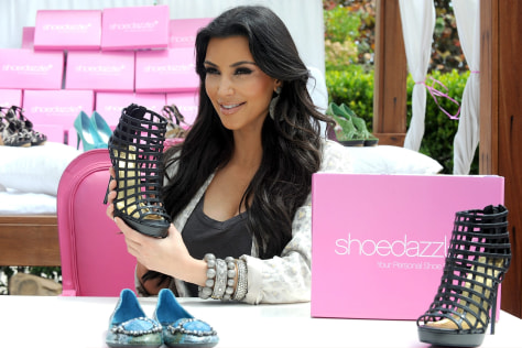 Image: Kardashian at ShoeDazzle.com event