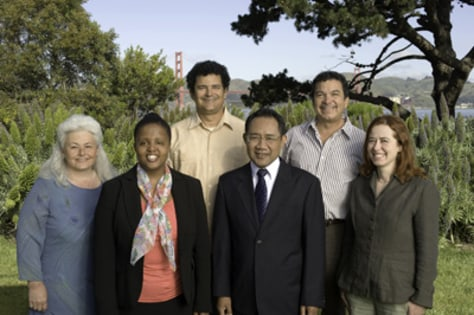 Image: Goldman Prize winners