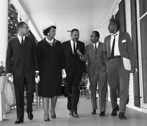 Image: Dorothy Height with other civil rights leaders