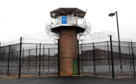 Image: A prison tower in Camp Hill, Pa.
