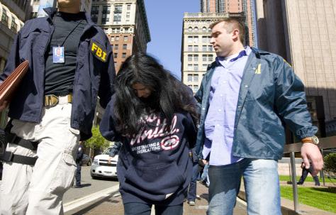 Image: Female suspect