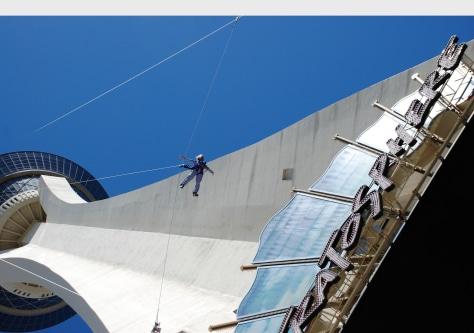 Image: Stratosphere skyjumper