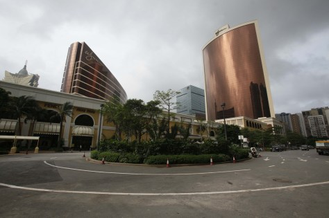 Image: Wynn Encore Macau, right, and the Wynn Macau