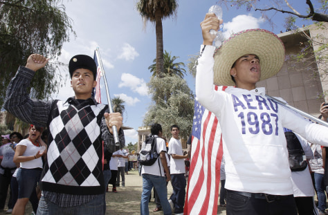 Image: Protest at the Arizona Capitol
