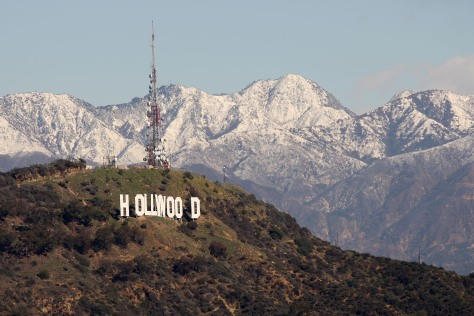 Image: Land around Hollywood sign