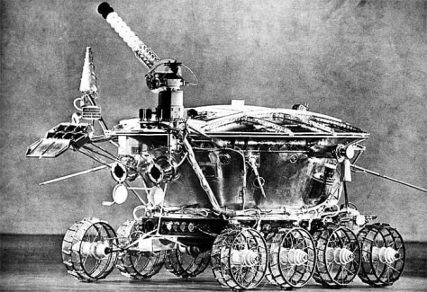 Image: Old Russian rover