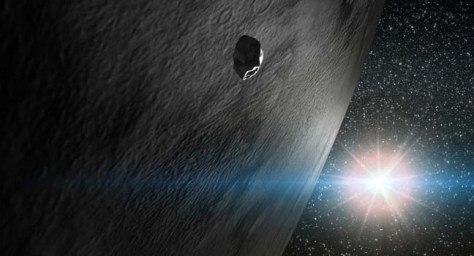 Image: Asteroid with frost