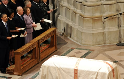 Image: Barack Obama at Height funeral