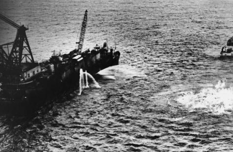 Image: 1979 oil spill in Mexico