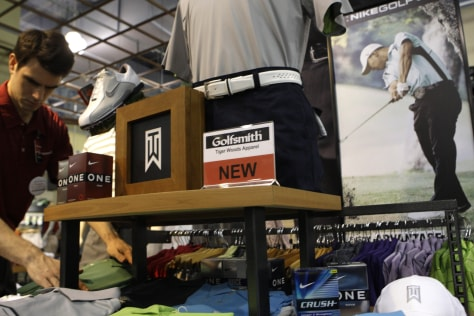 Image: Tiger Woods merchandise