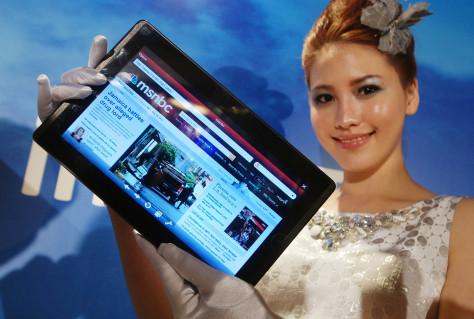 Image: AsusTek Eee Pad EP101TC tablet computer